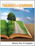 Introduction to the Theories of Learning, Olson, Matthew H. and Hergenhahn, B. R., 0205923828