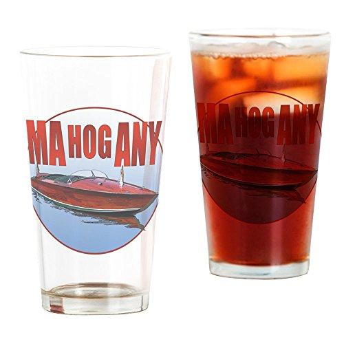 CafePress Mahogany-C10trans Pint Glass, 16 oz. Drinking Glass