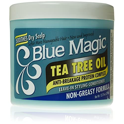 Blue Magic Tea Tree Leave-In Hair Styling Conditioner, 13.75 Ounce supplier