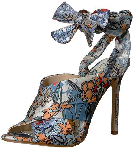 - Jessica Simpson Women's JESTELLA Sandal, Blue Multi,  8 M US