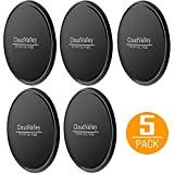 CloudValley Fixate Cell Gel Pads [5 Pack], Sticky Gel Pad, Multifunctional Gel Pads - Holds Cell Phones, Coins, Golf Cart, Boating, Speakers