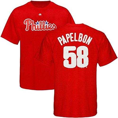 b640d826f where to buy amazon jonathan papelbon philadelphia phillies mlb majestic  mens red faux stitch jersey t