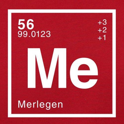 Merle Periodensystem - Herren T-Shirt - Rot - XXL