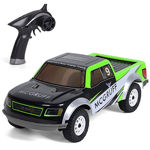 GPTOYS S926 Remote Control Car 20MPH 4WD 2.4Ghz Pickup RC Truck 1/12 Scale With LED Headlight