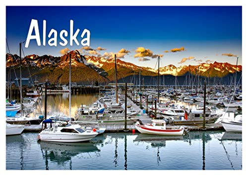 Seward Alaska, Port City in southern Alaska, entrance to Kenai Fjords National Park, AK, Travel, Souvenir Magnet 2 x 3 Fridge Magnet (Best Ports In Alaska)
