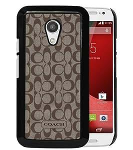 Popular Custom Designed Case For Motorola Moto G 2nd Generation With Coach 61 Black Phone Case