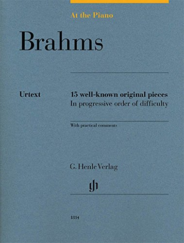 Download Brahms: At The Piano - 15 Well-Known Original Pieces ebook