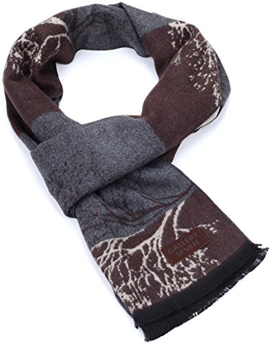 Gallery Seven Winter Scarfs for Women - Fashion Womens Winter Scarves - Elegant Gift Wrapped - Smoky Forest by Gallery Seven (Image #3)