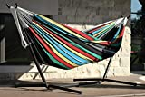 Eclipse Collection Vivere's Combo - Double Rio Night Hammock with Stand (9ft) New