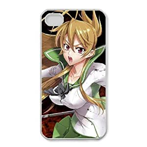 iPhone 4,4S Phone Case HIGHSCHOOL OF THE DEAD Personalized Cover Cell Phone Cases GHR765474