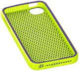 iFrogz Breeze Case for iPhone 5, Retail Packaging, Purple/Green (IP5BZ-PRGR)
