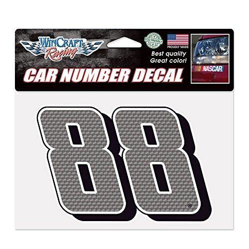 (WinCraft NASCAR 90013015 Dale Earnhardt Jr Car Number Decals )
