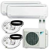 DAIKIN Dual (2 Zone) Air Conditioner Heat Pump