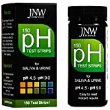 pH Test Strips, 150 Saliva and Urine pH Test Strips for Testing Body Acidity & Alkalinity, Perfect Kit to Monitor Your Alkaline Weight Loss Diet