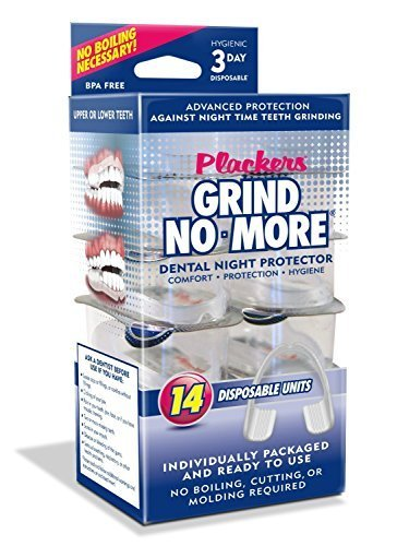 Plackers Mouth Guard Grind No More Dental Night Protector, 14 Count (Pack of 2) by Plackers (Image #1)