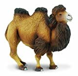 Safari Ltd Wild Wildlife Bactrian Camel Realistic Hand-Painted Toy Figurine Model For Ages 3 And Up