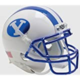 BRIGHAM YOUNG COUGARS NCAA Schutt XP Authentic MINI Football Helmet BYU (CHROME)