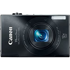 Canon PowerShot ELPH 520 10.1MP Digital Camera with 3-Inch TFT LCD