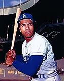 Tommy Davis Signed 8X10 Photo Autograph LA Dodgers Bat Silver Lower Auto COA