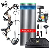 XGeek Compound Bow,with Hunting Accessories Package,19-30