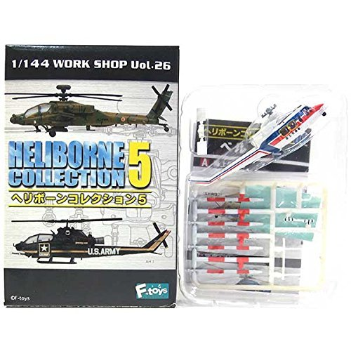 [1C] Efutoizu 1/144 helicopter bone collection Vol.5 Bell 412 Ministry of Land, Infrastructure and Transport (Bell 412)