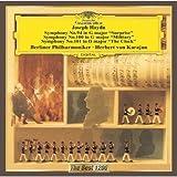 ハイドン:交響曲第94番「驚愕」、100番「軍隊」、101番「時計」