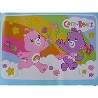 Care Bears Rainbow Plush Rug Large 6 x 4 ft Kids Floor Accent Rug