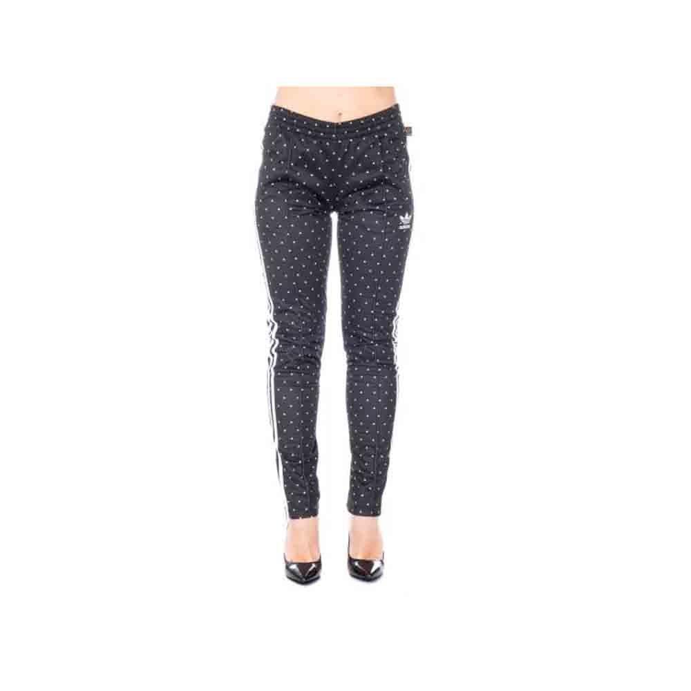 ... Adidas Pantalone Sportivo BR1841 Donna Pharrell Williams in Tessuto  Nero BR1841 Sportivo 519b47 a5ae311d78e