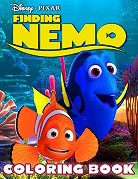 - Finding Nemo Coloring Book: Kids Coloring Books With High Quality  Hand-drawn Images Of Finding Nemo Movie: Henderson, Paul: 9798650857167:  Amazon.com: Books