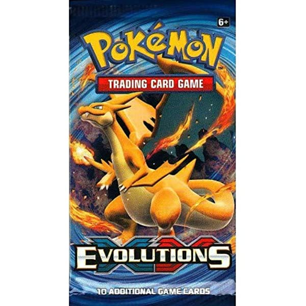 2 BOOSTER PACKS! Pokemon XY Evolutions Booster New Sealed TCG Card Game