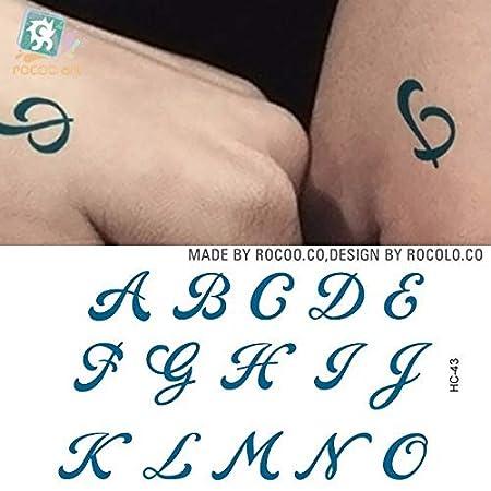 Zhuhuimin 5pcs Pegatinas Impermeable del Tatuaje Negro Diablo no ...