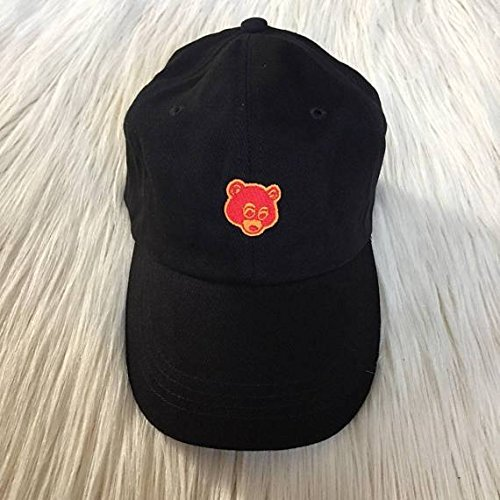 Amazon.com  Kanye College Dropout Bear Embroidered Hat  Handmade 782317ba162