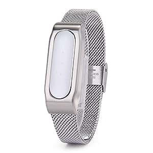 VANPLUS La moda de metal de alta calidad correa & concha protectora para Xiaomi mi banda pulsera accesorios smart