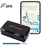 Magnet GPS Car Tracker for Vehicles Cars Wireless Mini Real Time GPS Locator Tracking 30 days Standby time, for Car Motorcycle Truck Kids Teens Old LM002