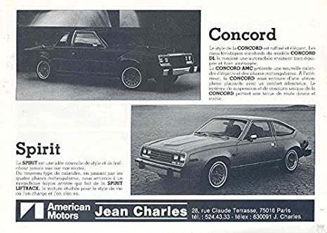 Amazon.com: 1979 AMC Eagle Jeep Spirit Brochure Export ...
