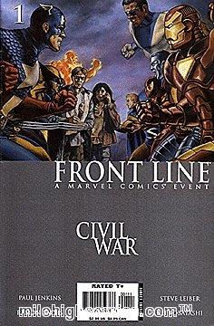 Civil War: Front Line (2006 series) #1