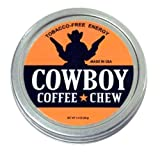 Cowboy Coffee Chew Quit Smoking Non Tobacco Nicotine Free Smokeless Alternative to Smoking Cigarette Pipe Cigar Quit Chewing Tin Can Non Tobacco Nicotine Free Smokeless Alternative to Dip Snuff Snus Leaf