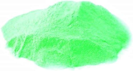 KIRALOVE Pigmento en Polvo fosforescente - Verde> Verde ...