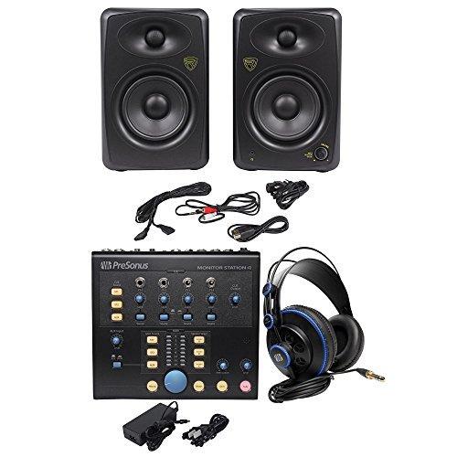 Presonus Monitor Station V2 Control Center+(2) Studio Monitors+Studio Headphones