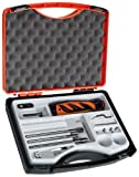 SHAVIV 90085 Top Three Mango II Deburring Tool Starter Kit (12 Pieces in Case)