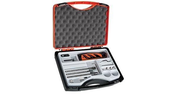 SHAVIV 29256 Bonus Pack Deburring Tool Kit with Holder and 10 B10S Cobalt Blades