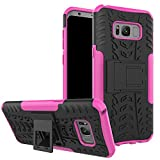 zizo bolt for note edge - Galaxy S8 Plus Cover Case,Jessica Kickstand Feature Heavy Duty Protection PC and Silicone feature Full-body Rugged Protective Case for Samsung Galaxy S8 Plus (2017 Released)