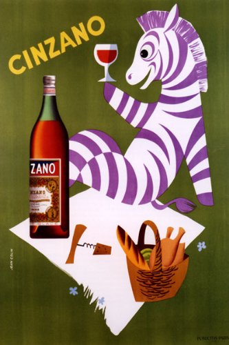 cinzano-italian-vermouth-zebra-picnic-drink-large-vintage-poster-repro