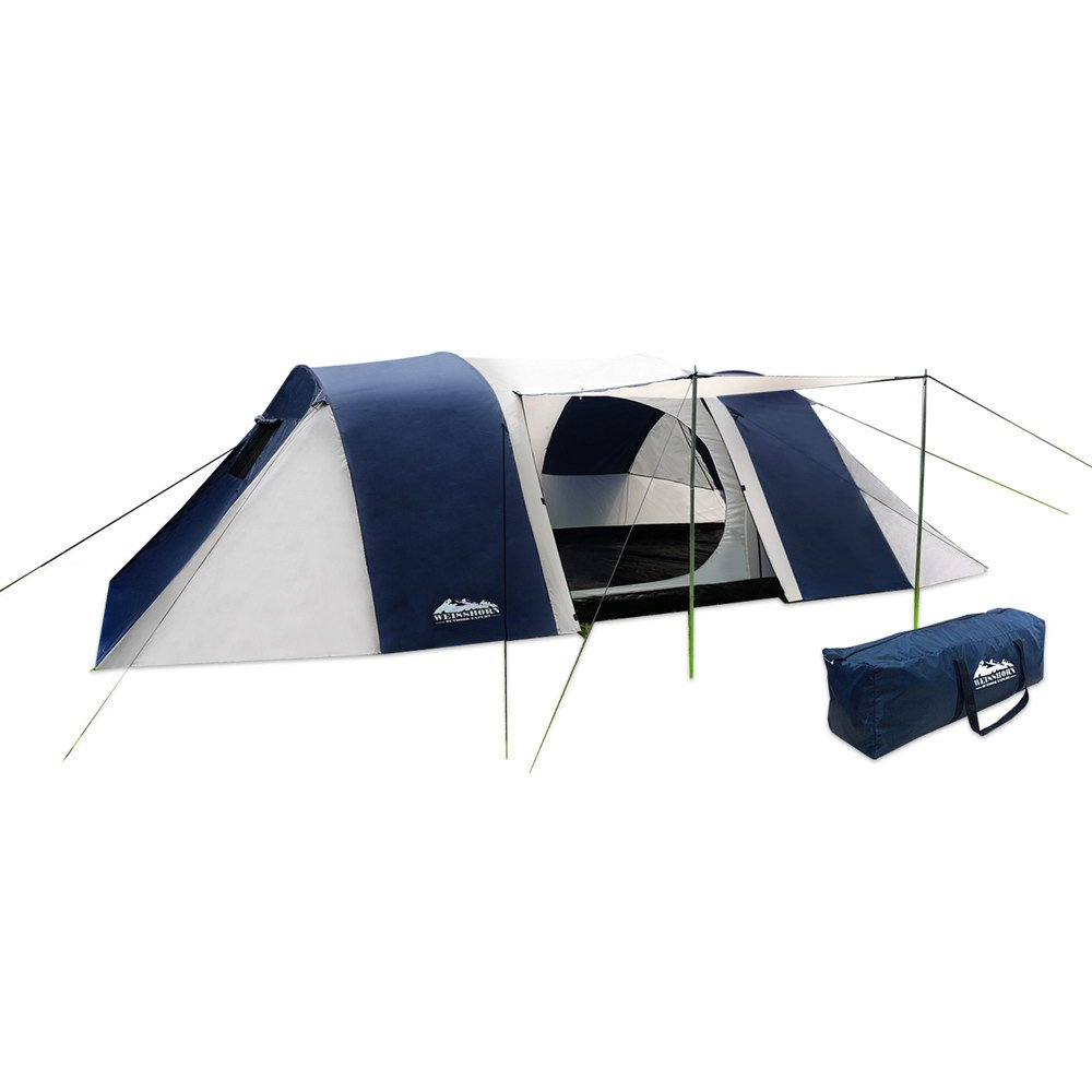 Weisshorn 12 Person Family C&ing Dome Tent Canvas Swag Hiking Beach 2 Rooms  sc 1 st  Amazon.com.au & Oztrail Odyssey Duo Large Family Tent (Sleeps 12) Geodesic: Amazon ...