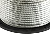 Forney 70453 Wire Rope, Vinyl Coated Aircraft
