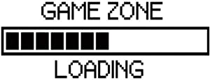 Game Zone Loading Wall Sticker Decal Kids Room Home Background D¨¦cor Cool Funny Wall Art