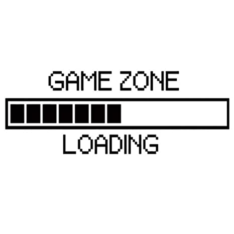Buy Wall Sticker Game Zone Loading Wallpaper Vinyl Decal For