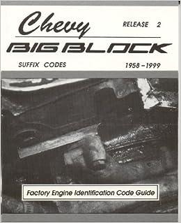 Chevy Engine Codes