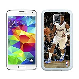 Popular And Unique Custom Designed Cover Case For Samsung Galaxy S5 I9600 G900a G900v G900p G900t G900w With LA Clippers Chris Paul 1 White Phone Case