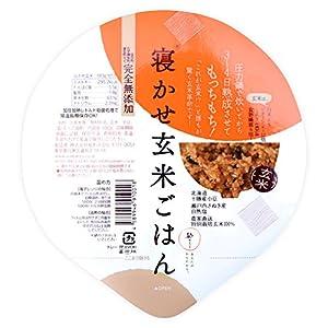 結わえる 寝かせ玄米 レトルトパック 小豆ブレンド(180g×24個セット)寝かせ玄米ごはん